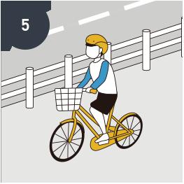 Kids should wear<br>bicycle helmets